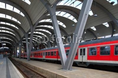 Neutrale Bahnhof - Szene