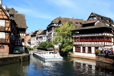 Elsaß, Straßburg, Strasbourg, Altstadt, la petite france