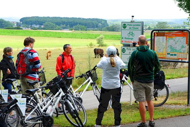 Landpartie mit Mietfahrrädern Luxembourg Land © Copyright by PANORAMO