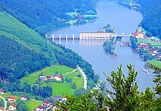 Donau bei Schlögen-Aschah Österreich