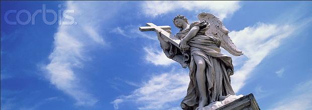 Rom Angel on Ponte San'Angelo © Copyright Karl Heinz Haenel and CorbisImages 42-17148338 Rights - managed by Corbis Images: zum download-link auf das Foto klicken
