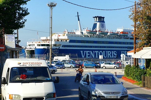 Hafenstadt Igoumenitsa Griechenland © Copyright by PANORAMO DSC00488