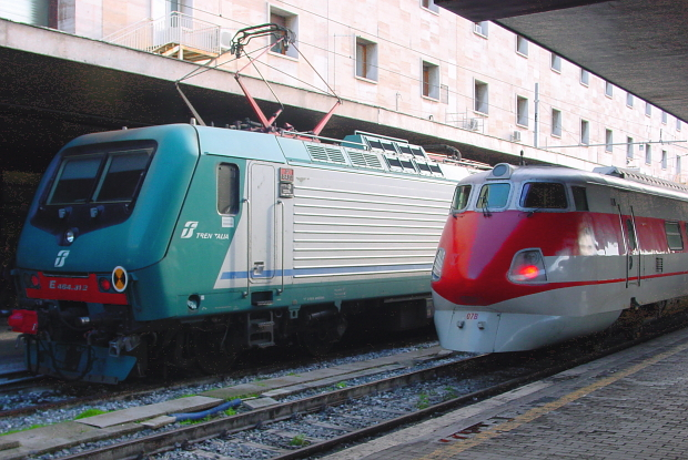 Tren Italia Bahnhof Rom © Copyright by PANORAMO BlogDSC02146