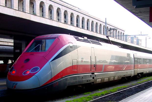 Tren Italia Freccia Rossa © Copyright by PANORAMO BlogDSC02148