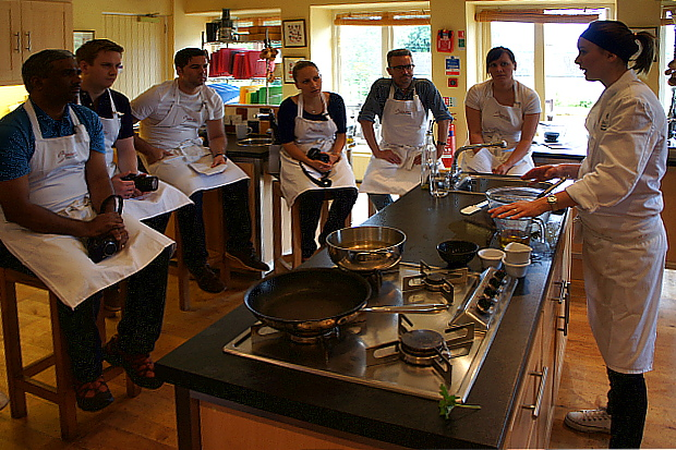 Corrie Cadden, Belle Isle Cookery School © Copyright by PANORAMO BlogDSC06755