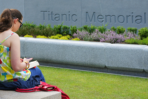 Titanic Memorial Belfast  © Copyright by PANORAMO