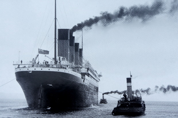 Titanic © Copyright by Belfast Museum