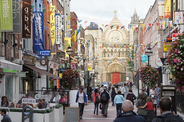 Künstlerviertel Alt Dublin Temple Bar © Copyright by PANORAMO