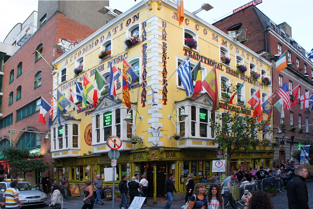 Künstlerviertel Alt Dublin Temple Bar © Copyright by PANORAMO