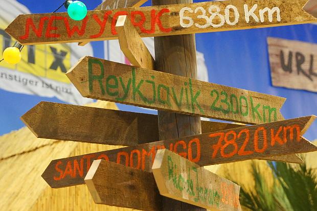 wo geht die Reise hin ... ITB Reisemesse 2013 © Copyright by PANORAMO