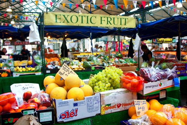 St Geoges Market Belfast Nordirland © Copyright by PANORAMO BlogMarktDSC07021