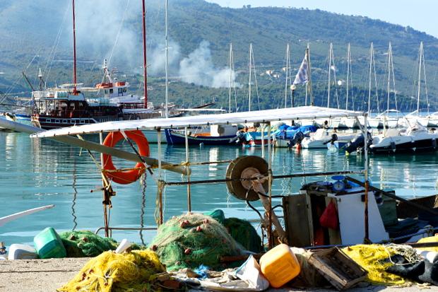 Küstenorte Epirus Griechenland © Copyright by PANORAMO DSC00506