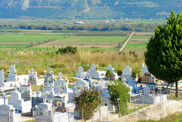 Autobahn am Horizont der Berge von Epirus Griechenland © Copyright by PANORAMO DSC00522