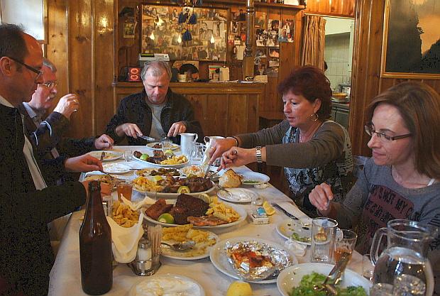 Taverne Kikitsas Zagori Epirus Griechenland © Copyright by PANORAMO DSC01253