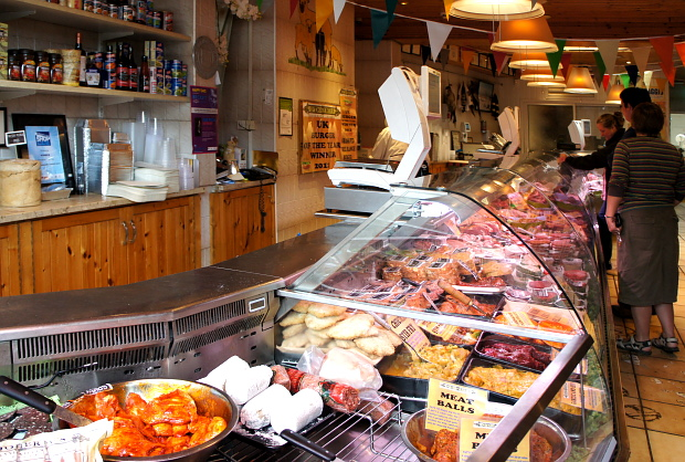 Pat O'Doherty black bacon Enniskillen, Co Fermanagh,Nord Irland, DSC06660 © Copyright by PANORAMO