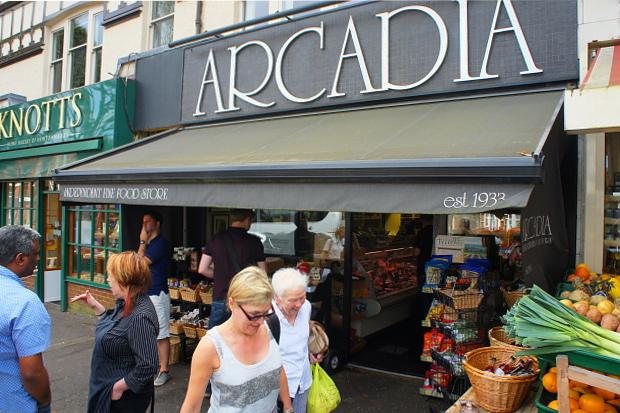 Arcadia Deli Belfast Nordirland © Copyright by PANORAMO#DSC07002
