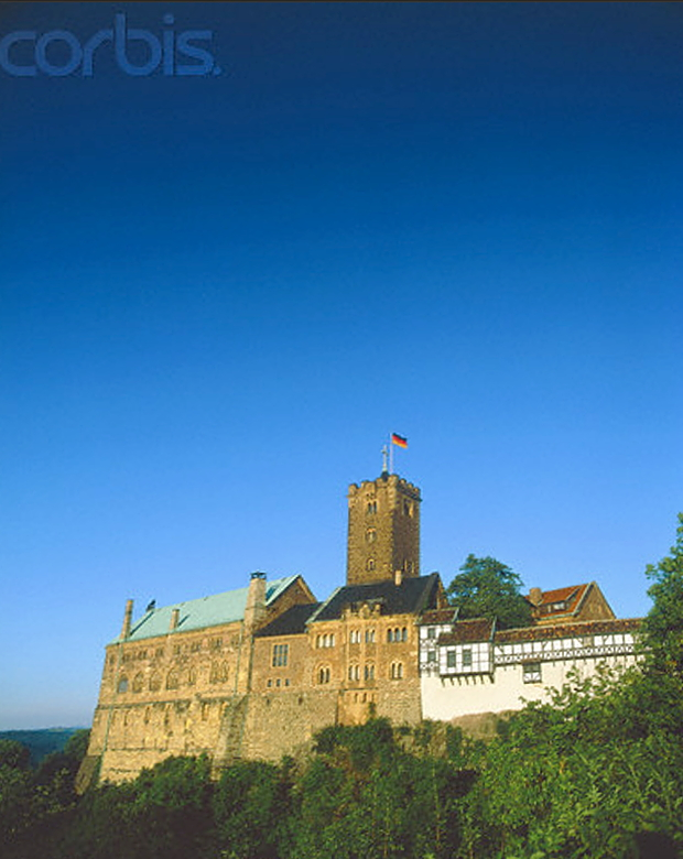 Wartburg Eisenach © Copyrights managed by Corbis Images 42-15348244
