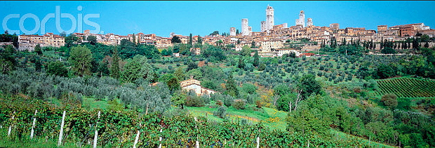 San Gimignano © Copyrights managed by Corbis Images 42-17024029