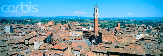 Siena Toskana © Copyrights managed by Corbis Images Blog 42-17024063