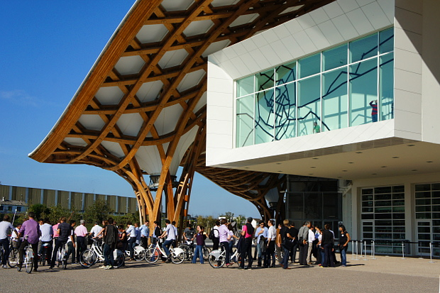 Das Centre Pompidou Metz © Copyright by PANORAMO#DSC03693