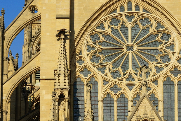 Kathedrale St Etienne Metz © Copyright by PANORAMO#DSC03706