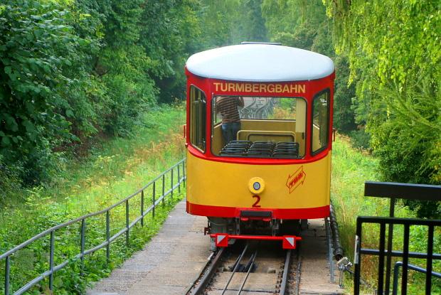 Turmbergbahn Durlach Karlsruhe © Copyright by PANORAMO#DSC07712