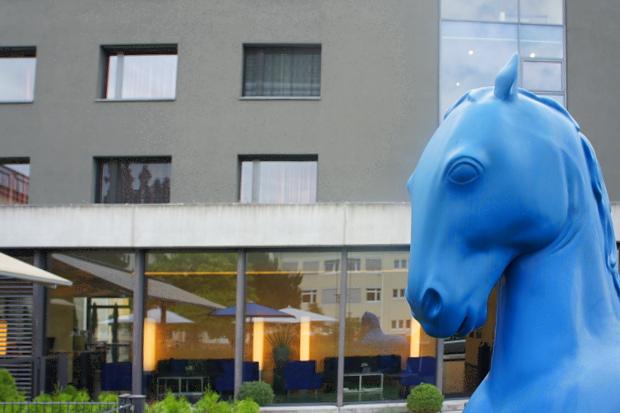 Der Blaue Reiter Karlsruhe Durlach © Copyright by PANORAMO#DSC07739