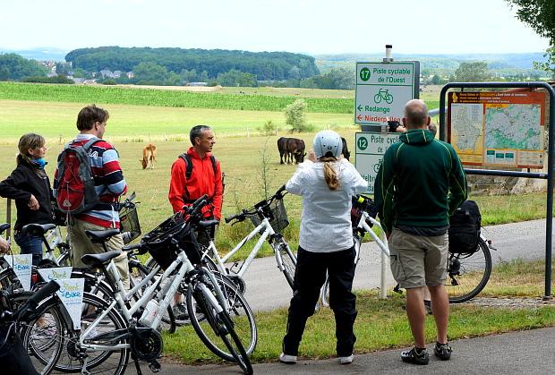Luxemburg-Bike © Copyright by PANORAMO Bild lizensieren: briefe@panoramo.de