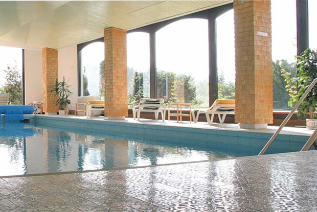 Pool Die Mittelburg Vitalhotel D-87466 Oy-Mittelberg im Allgäu