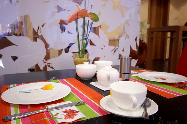 Frühstück im Hotel Der Blaue Reiter Durlach, Karlsruhe
