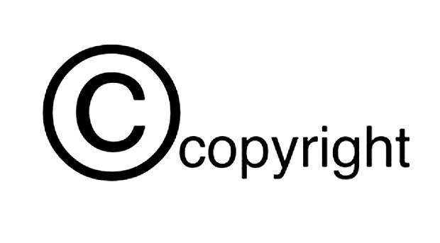 Das Copyright schützt Urheberrechte, ein Verstoß kann teuer werden ...