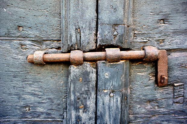 verschlossen © Copyright by PANORAMO Bild lizensieren: briefe@panoramo.de
