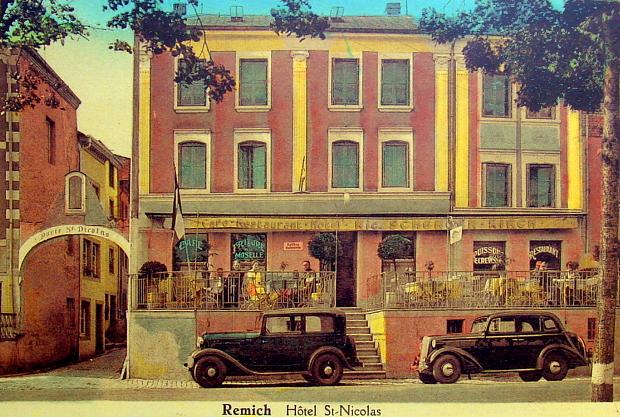 Hotel Saint Nicolas in Remich seit 1885