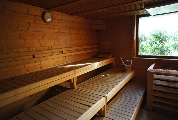 Finische Sauna des Wellness Hotel Saint Nicolas & Spa in Remich