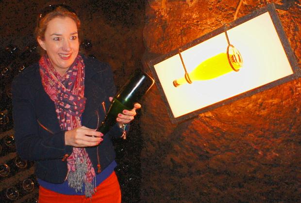 Isabelle Gales von der Caves Saint-Martin
