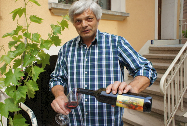 Viticulteur Benoit Kox, erfahrener Winzer aus Remich