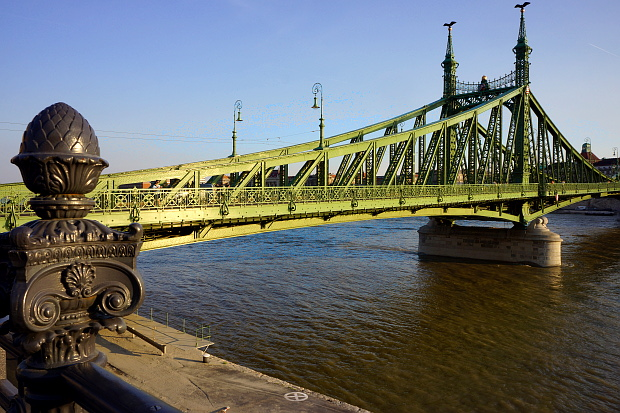 Freiheitsbrücke Budapest 2013 © Copyright by PANORAMO Bild lizensieren: briefe@panoramo.de