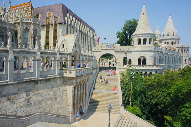 Fischerbastei Budapest 2013 © Copyright by PANORAMO Bild lizensieren: briefe@panoramo.de
