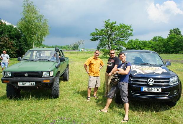 (v.l.) Blogger Hubert, Ingo, Philip in Budapest 2013 © Copyright by PANORAMO Bild lizensieren: briefe@panoramo.de