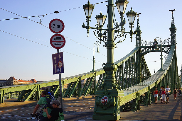 reiheitsbrücke Budapest 2013 © Copyright by PANORAMO Bild lizensieren: briefe@panoramo.de