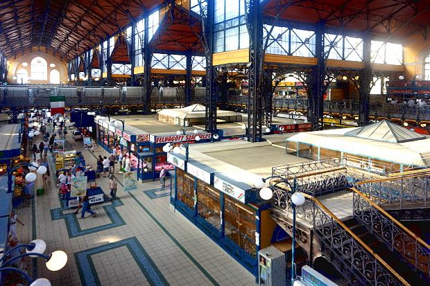 Markthalle Budapest 2013 © Copyright by PANORAMO Bild lizensieren: briefe@panoramo.de