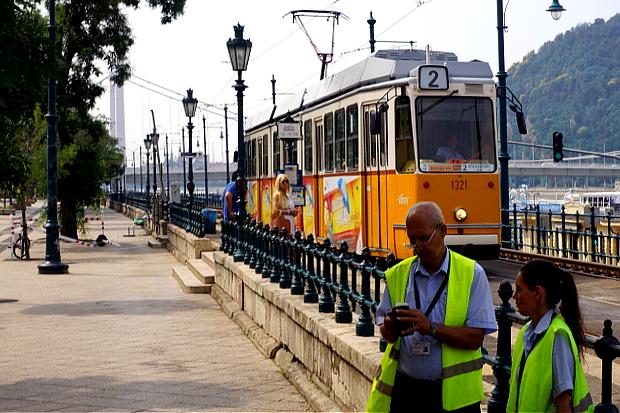 Straßenbahn in Budapest 2013 © Copyright by PANORAMO Bild lizensieren: briefe@panoramo.de