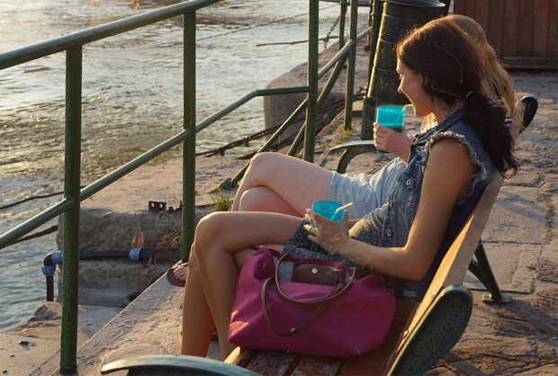 am Ufer der Donau, Budapest 2013 © Copyright by PANORAMO Bild lizensieren: briefe@panoramo.de