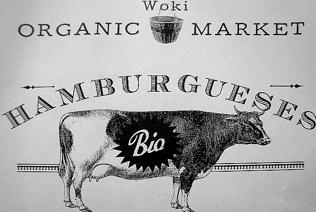 Woki Wok & Ecomarket in der Carrer Asturias 22, Stadtteil Gracia Barcelona © Copyright by PANORAMO Bild lizensieren: briefe@panoramo.de