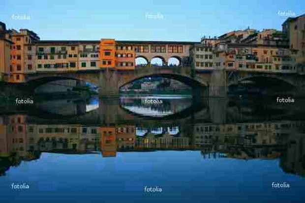 Florenz Ponte Vecchio © Copyright by PANORAMO #9807117