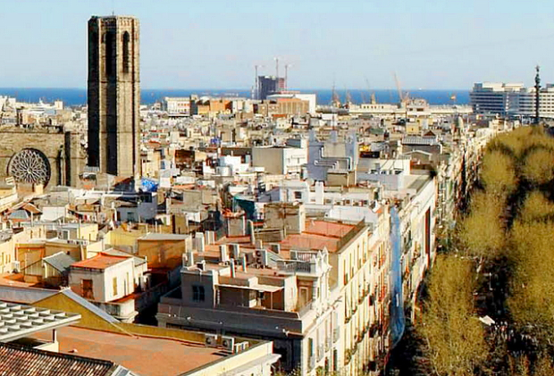 Ausblick vom Le Meridien Barcelona © Copyrights Le Meridien