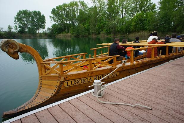 Römerschiff Lusoria Rhenana © Copyright by PANORAMO Bild lizensieren: briefe@panoramo.de