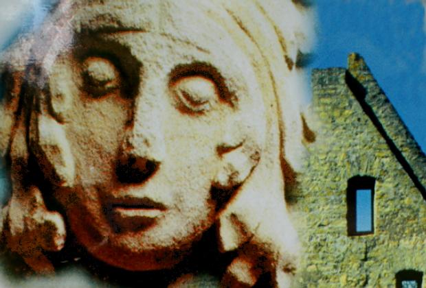 Hildegard von Bingen, Ruine der Disibodenburg