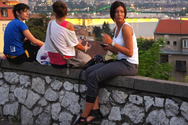 City Szene Belgrad © Copyright by PANORAMO Bild lizensieren: briefe@panoramo.de