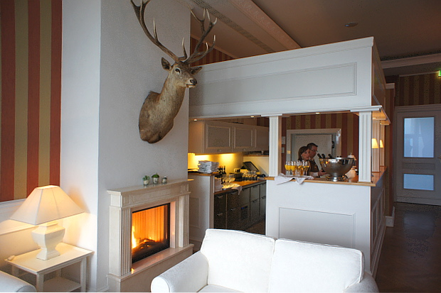 Strandhotel Glücksburg © Copyright by PANORAMO Bild lizensieren: briefe@panoramo.de